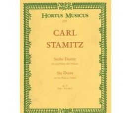STAMITZ SIX DUETS FOR TWO...