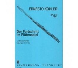 KOHLER E. OP 33 HEFT 1 FLUTE