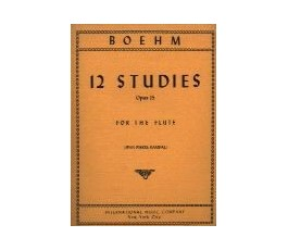 BOEHM 12 STUDIES OP 15 FOR...