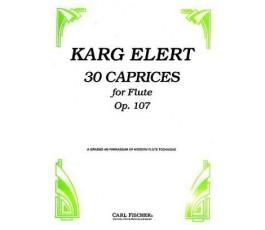 KARG ELERT 30 CAPRICEN OP...