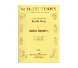 DONT 23 FLUTE ETUDES