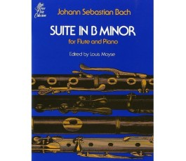 BACH J.S. SUITE IN B MINOR...