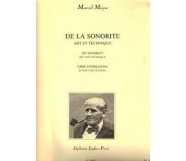 MOYSE M. TECHNIQUE DU SON...