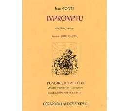 CONTE J. IMPROMPTU FLUTE ET...
