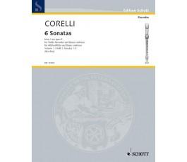 CORELLI A. SIX SONATAS OP 5...