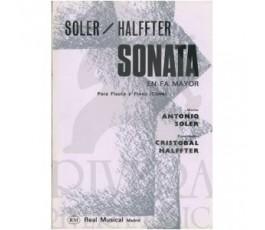SOLER, HALFFTER SONATA EN...