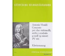 VIVALDI A. CONCERTO G MOLL...