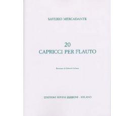 MERCADANTE S. 20 CAPRICCI...