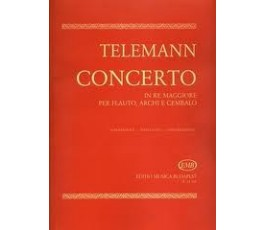 TELEMANN CONCERTO IN RE...