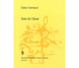 DENISSOW SOLO FOR OBOE