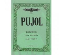 PUJOL E. ESTUDIOS PARA...