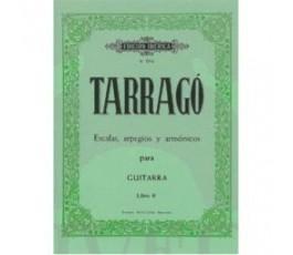 TARRAGO ESCALAS, ARPEGIOS Y...