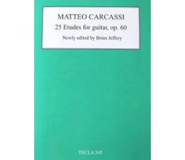 CARCASSI M. 25 ETUDES FOR...