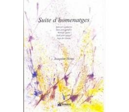 HOMS J. SUITE D'HOMENATGES...