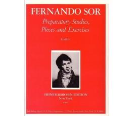 SOR F. PREPARATORY STUDIES...