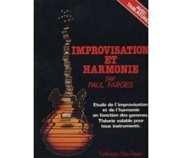 FARGES P. IMPROVISATION ET...