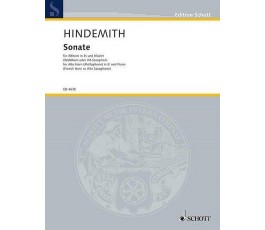HINDEMITH SONATE FUR...