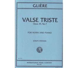 GLIERE VALSE TRISTE OP.35...