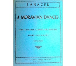 JANACEK THREE MORAVIAN...