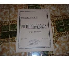 AINAUD E. METODO DE VIOLIN...