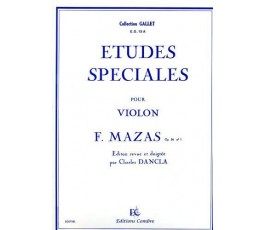 FEREOL J. ETUDES SPECIALES...