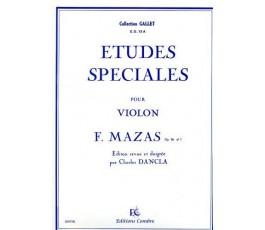FEREOL J. ETUDES SPECIALES...
