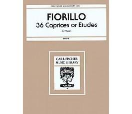 FIORILLO 36 CAPRICES OR...