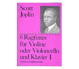 JOPLIN S. 6 RAGTIMES FUR...