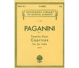 PAGANINI OP.1 TWENTY FOUR...
