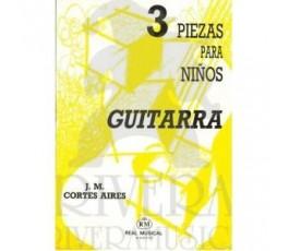 CORTES J.M. TRES PIEZAS...