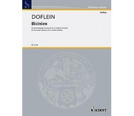 DOFLEIN BICINEN  2 VIOLINES