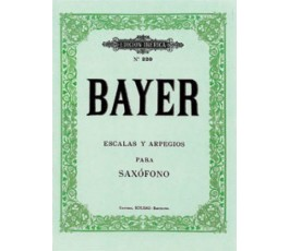 BAYER ESCALAS Y ARPEGIOS...