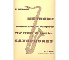BRIARD R. METHODE SAXOPHONES