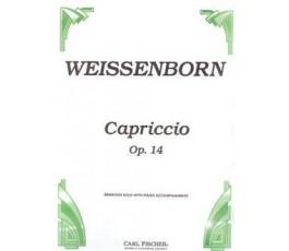 WEISSENBORN CAPRICCIO OP.14...