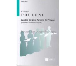 POULENC F. LAUDES DE SAINT...