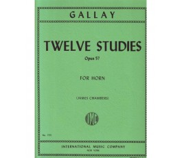 GALLAY TWELVE STUDIES OP.57...