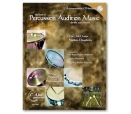 PERCUSSION AUDITION MUSIC + CD
