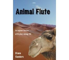 SANDERS D. ANIMAL FLUTE + CD