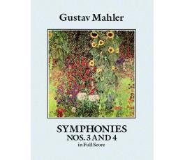 MAHLER G. SYMPHONIES NOS. 3...