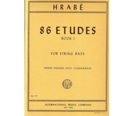HRABE 86 ETUDES BOOK 1 FOR...