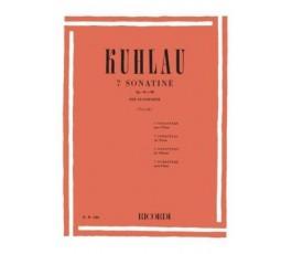 KUHLAU F. SONATINAS (7)...