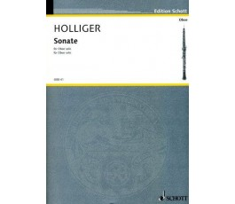 HOLLIGER SONATE FOR OBEO SOLO