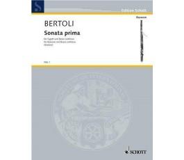BERTOLI SONATA PRIMA