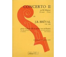 BREVAL CONCERTO II   CELLO