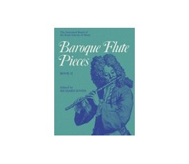JONES BAROQUE FLUTE PIECES...