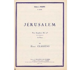 CLASSENS H. JÉRUSALEM