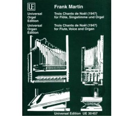 MARTIN F. TROIS CHANTS DE NOËL