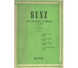 KUNZ K.M. PEQUEÑOS CANONES...