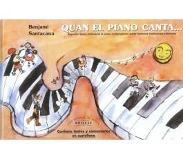 SANTACANA QUAN EL PIANO CANTA