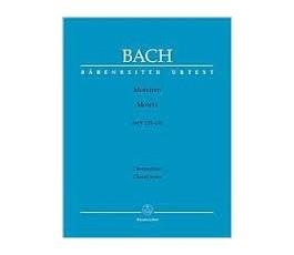 BACH MOTETTEN MOTETS BWV...
